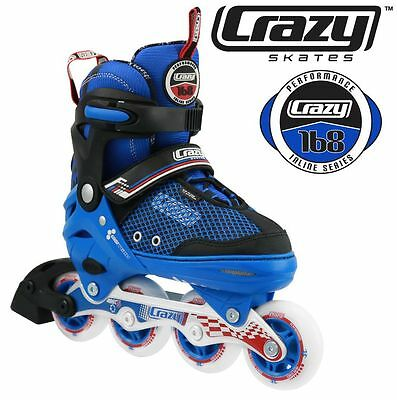 BEST VALUE Adjustable Rollerblades 4 sizes in 1 Inline Skates  - HIGH QUALITY!