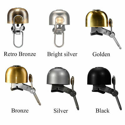 RockBros Cycling Bicycle Handlebar Ring Bell Horn Retro Upgrades Bell 4 Color