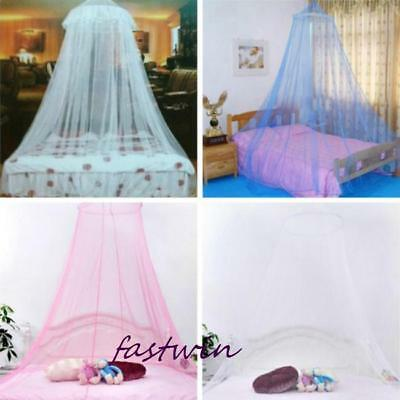 Elegant Lace Bed Canopy Netting Curtain Fly Midge Insect Cot Mosquito Net FW