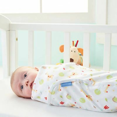 Have a Giraffe Baby Lightweight Sleeping Swaddle 0-3 Months by The Gro Company