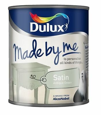 Dulux Made By Me Furniture Paint All Colours All Colours Satin Finish 750ml