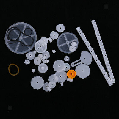 Different Types Plastic Crown Gear Single Double Reduction Gear