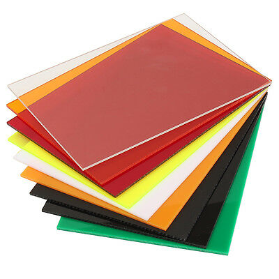 New 3mm A5 148x210mm Acrylic Perspex Sheet Cut to Size Panel Plastic Satin Gloss