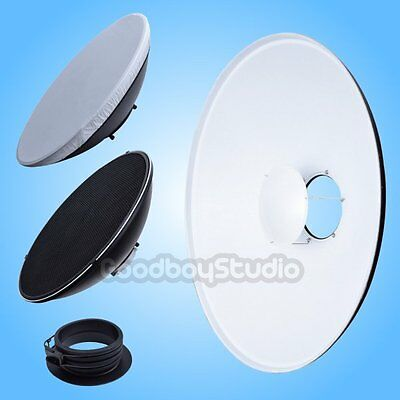 55cm White Honeycomb Grid Beauty Dish Profoto Mount (Speedring Changeable)