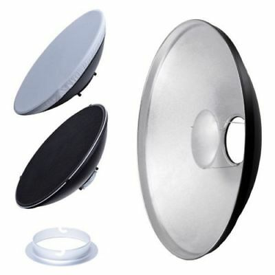 AU 42cm Silver Honeycomb Grid Beauty Dish Elinchrom Mount (Speedring Changeable)