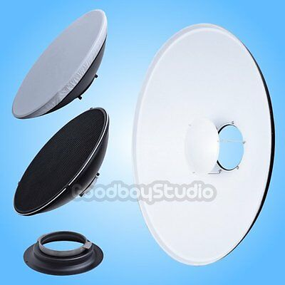 55cm 22'' White Honeycomb Beauty Dish Broncolor-A Mount (Speedring Changeable)