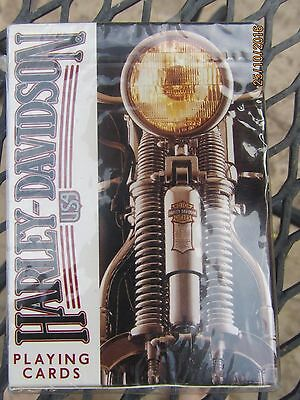 HARLEY DAVIDSON Motorcycle New Sealed Deck of Playing Cards