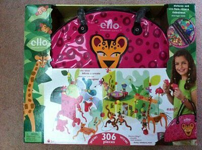 ello Creation System: Jungala Create and Carry Deluxe Set by Mattel