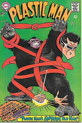 Plastic Man Comic Book #7, DC Comics 1967 VERY FINE