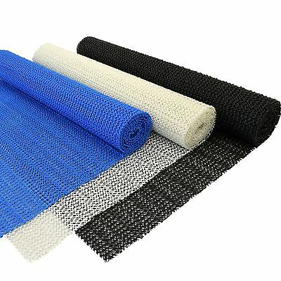 LARGE ROLL OF ANTI SLIP TOOL BOX LINER MATTING DASHBOARD NON SLIP MAT 30CMx150CM