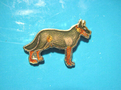 GERMAN SHEPHERD -   hat pin , lapel pin , tie tac , hatpin (S)  GIFT BOXED