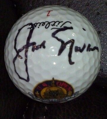 Jack Nicklaus Signed 1997 Us Open Congressional Golf Ball With  Case