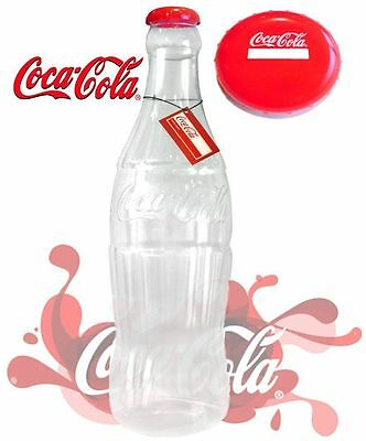 Giant 60cm 2ft Plastic Coca Cola Coke Saving Money Bottle Coin Money Box NEW
