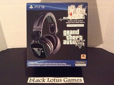 NEW Sealed Limited Edition Grand Theft Auto V PlayStation Pulse Elite Headset
