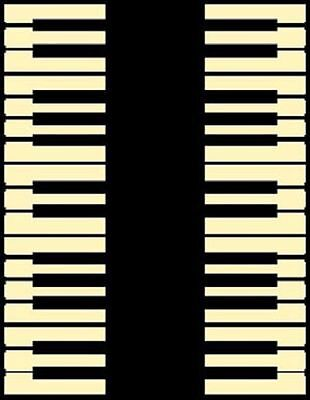 New Piano Music Room Instrument Novelty 5 X 8 Area Rug