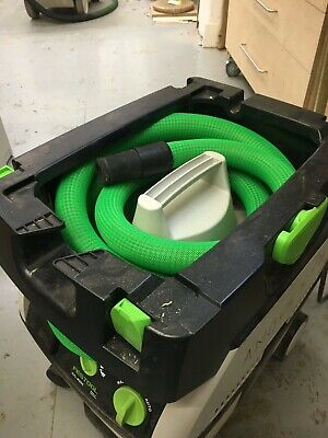 Festool Extraction HoseWrap *Green with Heat Shrink