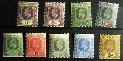 Stamps: Northern Rhodesia ; SG# 28 -37 s.s. M very LH  (D508)