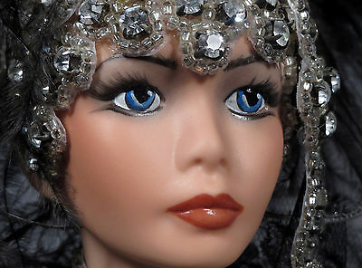 Doll   with Jewels AMAZING!!!