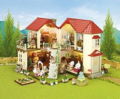 Sylvanian Families Beechwood Hall Doll House Girl Gift Kid Play Toy Pretend Xmas