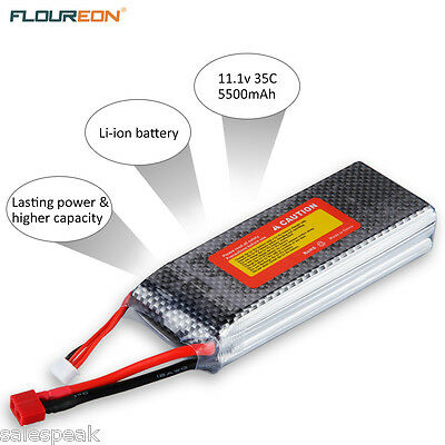 AU STOCK LiPo Battery 2S 7.4v 4000mAh 30C For RC CAR/BUGGY/TRUCK RC Helicopter