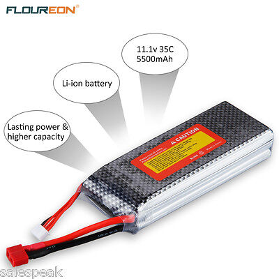 AU STOCK LiPo Battery 2S 7.4v 5000mAh 30C For RC CAR/BUGGY/TRUCK RC Helicopter