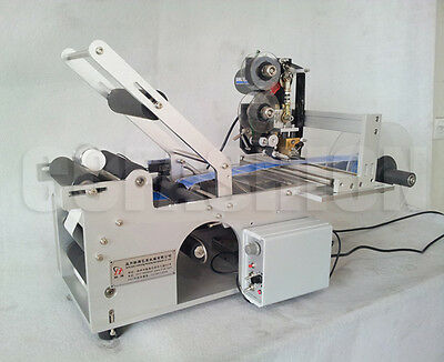 Automatic LT-50D Round Bottle Labeling Machine With Date Code Printer Labeller