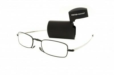 MicroVision Optical By Foster Grant Compact Folding Reading Glasses Gideon New