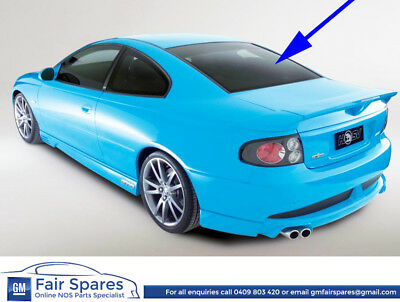HSV VZ GTO Coupe Rear Window Complete With Demister, Antena & HSV Decal 92209197