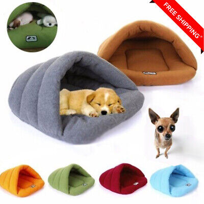 New Pet Sleeping Bag Soft Pad Dog Nest Bed Puppy Warm Cave House Cozy Puppy Mat
