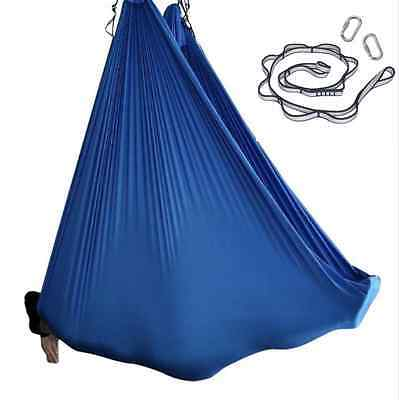 Nylon Tricot Aerial Yoga Swing Hammock Silk SET for Inversion Yoga Color Options