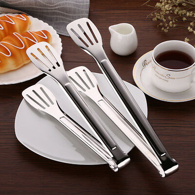 Bbq Kitchen Cooking Food Servingstainless Steel Salad Tongs Utensil Tong