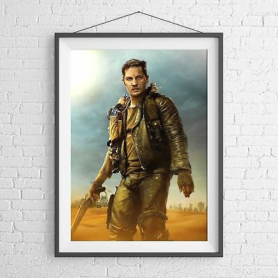 MAD MAX HARDY CLASSIC MOVIE POSTER PICTURE PRINT Sizes A5 to A0 **NEW**