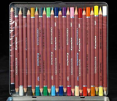 24 Artist Quality Colouring Pencils Cretacolor Smooth and rich colors Karmina