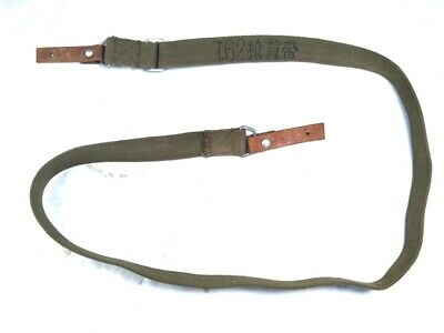 WWII WW2 Army Chinese Type 56 Keys with Two Leather End Canvas