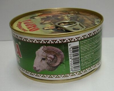 Lamb meat canned stewed Premium Quality Product from Russia