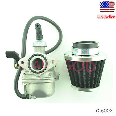 Carburetor Carb W/ Air Filter for Honda Aero 80 NH80 80cc Scooter US Seller  e1