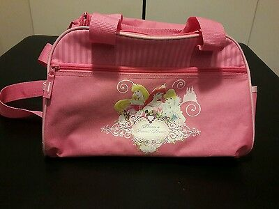 Disney Luggage dream A Princess  dream 16 in Soft Side Duffel Bag shoulder strap