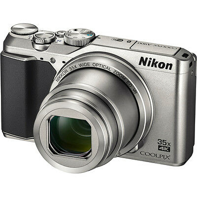 Nikon A900 COOLPIX 20MP 35x Zoom Silver Digital Camera