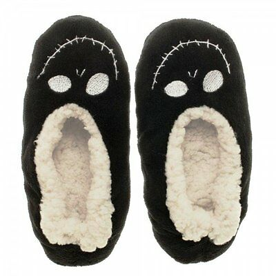 Nightmare Before Christmas Jack Plush Cozy Unisex Slippers - Size L/XL