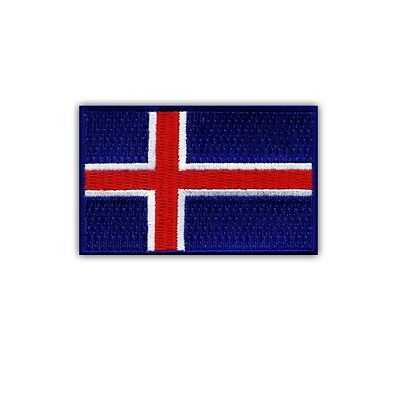 Flag of Iceland PATCH/BADGE