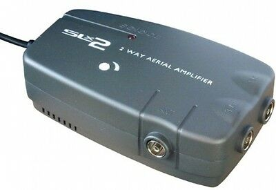 SLx 27822HSG Twin Output Signal Booster (4G Compatible)