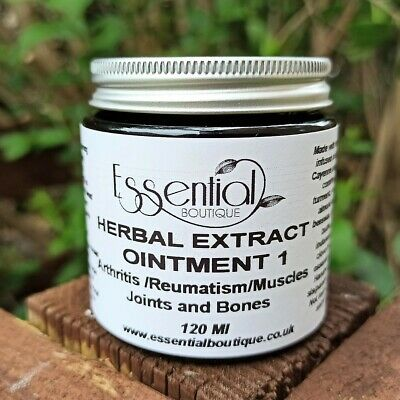 Herbal Ointment  No 1 Arthritis & Rheumatism for Muscles / Bones / Joints 120 ml