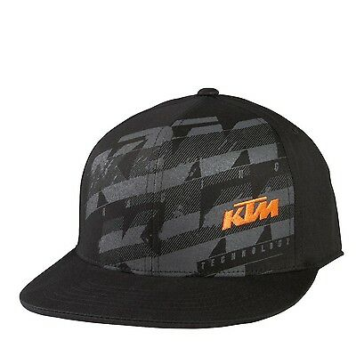 Fox - KTM Dividend High Profile Fitted Hat - Large/X-Large
