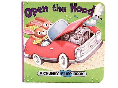 NEW!! Open the Hood... by Christopher Santoro (1993, A Chunky Flap Book)