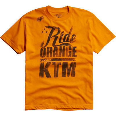 Fox – KTM Orange Ride Orange Youth T-Shirt - X-Large
