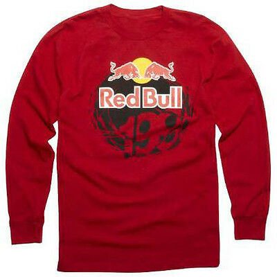 Fox – Red Bull Pastrana 199 Youth Red Long Sleeve T-Shirt - MD