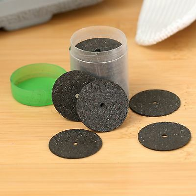 "0.94"" Reinforced Black Cut Off Wheels Discs Rotary Grinder Tool 1 Tube 36 PCs"