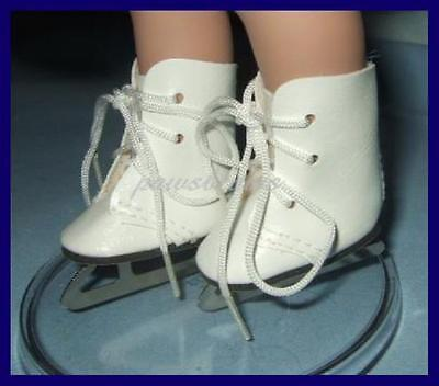 "ICE SKATES Shoes for 10"" PATSY Ann Estelle 14"" Madame Alexander"
