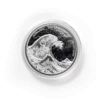 2017 Fiji Great Wave - Hokusai 1 oz .999 Silver Proof-Like Mint Sealed Coin