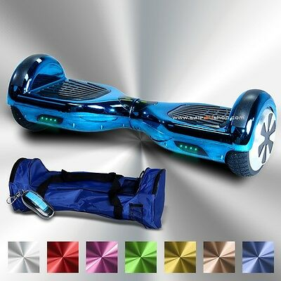 E-Balance Board ROBWAY W1 CHROME EDITION Hoverboard 6,5`Reifen